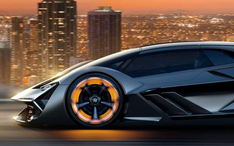 Lamborghini Unveils A Self Healing Electric Supercar The